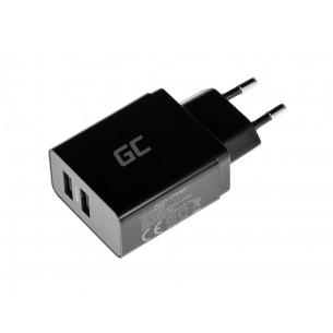 Alimentatore USB Compatibile 2xUSB con Ricarica iQ Smart