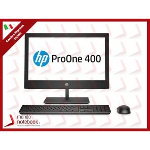 """ALL IN ONE HP ProOne 400 G4 4NT83EA 20"""" i5-8500T 8GB 1TB DVD Tastiera Mouse W10P"""