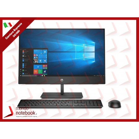 """ALL IN ONE HP ProOne 400 G5 7EM56EA 20"""" i5-9500T 8GB 1TB Tastiera Mouse DVD W10P"""