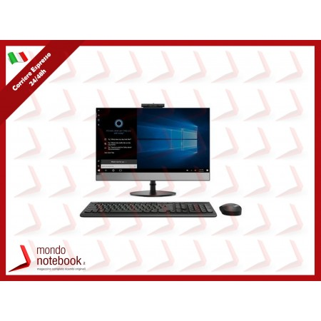 "ALL IN ONE LENOVO V530 10US00J5IX 21,5"" i5-9400T 8GB SSD256GB DVD Tastiera Mouse W10P"