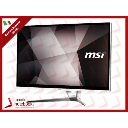 "ALL IN ONE MSI PRO 22XT 8M-013XIT 21,5"" TOUCH Celeron G4930 4GB 128GB SSD Tastiera e..."