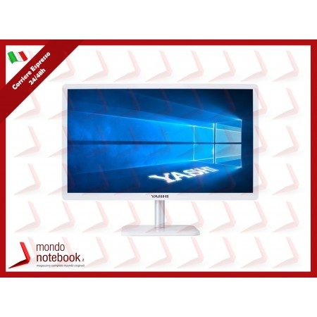 ALL IN ONE YASHI TOKYO H310 AY21830 21,5'' i3-8100 4GB 240GB SSD Tastiera e Mouse W10...