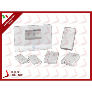 ALLARME ATLANTIS A13-A750G-BK 1 central d allarme GSM 2 sensori di apert porte/finestre...