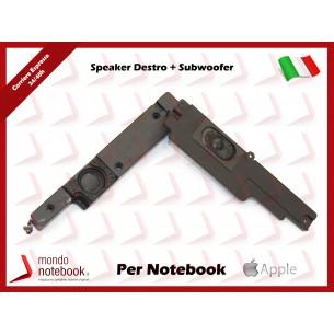 "Altoparlante Speaker APPLE MacBook Pro 15"" Unibody A1286  2010 2011 2012 (Destra)"