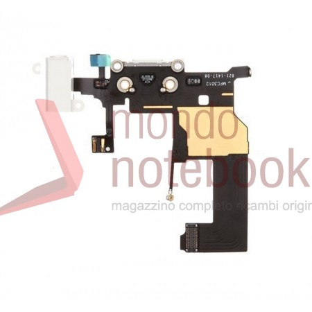 Apple iPhone 5 Charging Port Flex Cable Ribbon Replacement - White - Grade S+