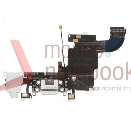 Apple iPhone 6S Charging Port Flex Cable Ribbon Replacement - Light Gray - Grade S+