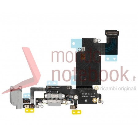 Apple iPhone 6S Plus Charging Port Flex Cable Ribbon Replacement - Dark Gray - Grade S+