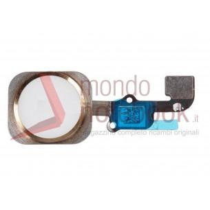 Apple iPhone 6S Plus Home Button con Flex Cable Ribbon Gold