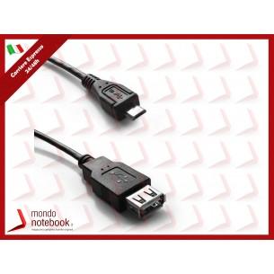 Atlantis adattatore OTG: Cavo USB-2.0 supporto OTG da USB a Micro USB P019-OTG-MA