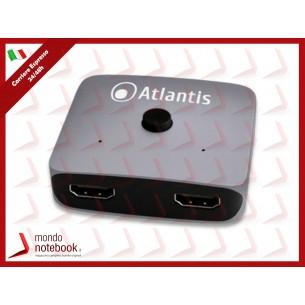 ATLANTIS HDMI SWITCH & SPLITTER A04-HDMI-SW_SP combo a 2 vie HDMI risoluz. max...