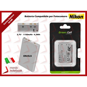 Batteria Compatibile per Fotocamera NIKON - EN-EL5