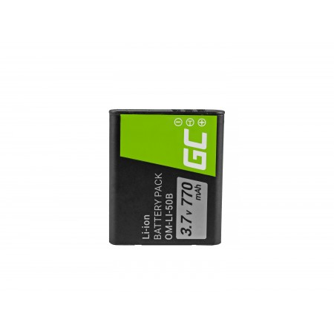 Batteria Green Cell Li-50B per Olympus SZ-15, SZ-16, Tough 6000, 8000, TG-820, TG-830,...