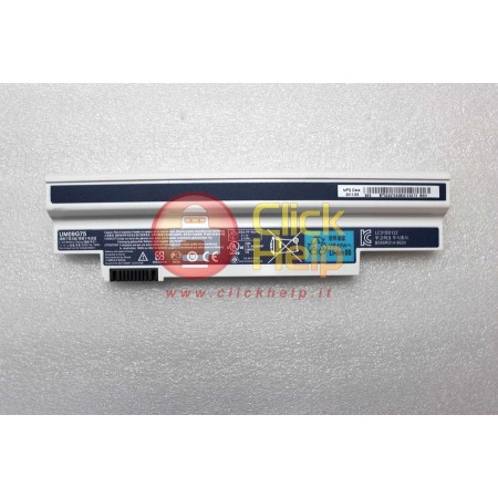 Batteria Originale ACER Aspire One 532H 533 532G (3 CELLE) (BIANCA)