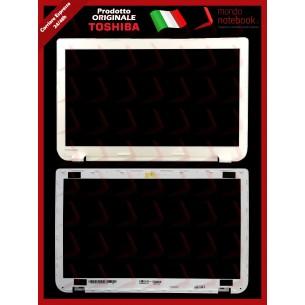Bezel Cornice LCD TOSHIBA Satellite L50 L50-A L50-A-1F2 L50-A-18U (BIANCA)