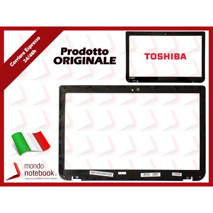 Bezel Cornice LCD TOSHIBA Satellite L50 L50-A S50D S55-A (Nera)