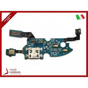 Board di Alimentazione Microfono Flex Cable Samsung GT-I9190 I9192 Galaxy S4 Mini