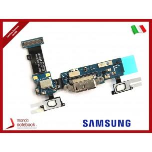 Board di Alimentazione Microfono Flex Cable Samsung SM-G900F Galaxy S5 Rev. 06H - 06K -...