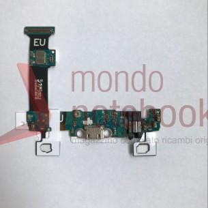 Board di Alimentazione Microfono Flex Cable Samsung SM-G928F Galaxy S6 Edge+ Plus