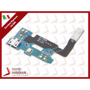 Board di Alimentazione Microfono Flex Samsung Cable GT-N7100 Galaxy Note 2