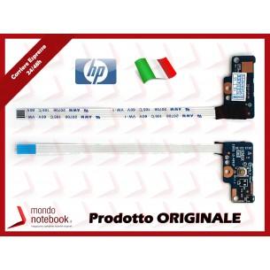 Board Tasto Accensione Power Button + Cavo Flat HP 15-G 15-R 250 G3