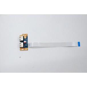 Board USB Toshiba Satellite L500 L505 L555 Con Cavo LS-4972P