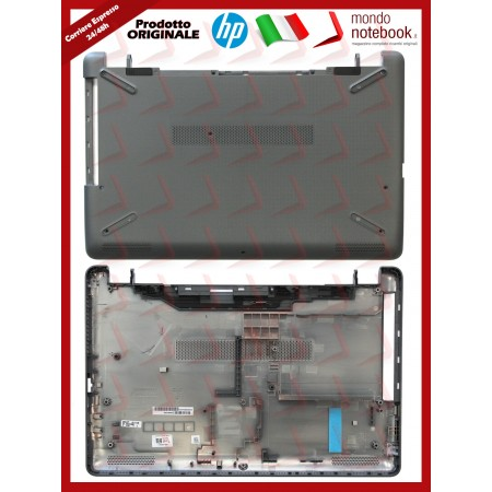 Bottom Case Scocca Cover Inferiore HP Pavilion 15-BS 15-BW 250 G6 255 G6 256 (Grigia)