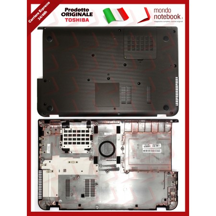 Bottom Case Scocca Cover Inferiore TOSHIBA Satellite P50 L50-A S55T (Nera)