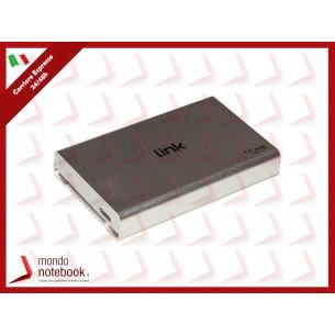 """BOX ESTERNO LINK USB 3.0 PER HDD SATA 2,5"""" FINO A 12,5 MM DI SPESSORE Alloggiamento in..."""