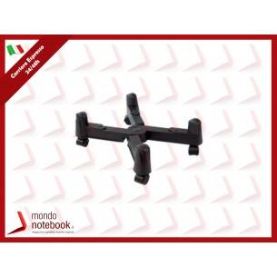 CARRELLO PORTA PC ATLANTIS P002-CS-7XK a Croce. Regolabile in larghezza da 3 cm a...