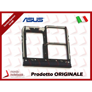 Carrello SIM Tray ASUS ZenFone Max Plus (M1) ZB570TL (X018D) (NERO)