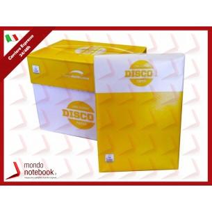 CARTA A4 DISCO 1+ x FOTOCOPIE/STAMPANTI 21x29,7 80gr (conf. 5 Risme x 500 fogli cad.)