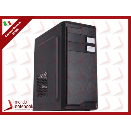 """CASE ITEK M.TOWER """"WINCO"""" 500W, USB2 Audio Front- Cable Managment - BK (Effetto..."""