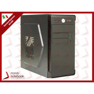 """CASE ITEK MICRO ATX """"RIVER"""" 500W 2*USB3, FAN 12cm fan,FULL BK, ITOCR170"""