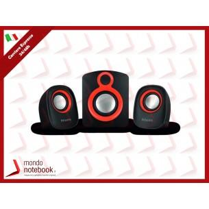 "CASSE ATLANTIS ""SoundMaster 900"" it Subwoofer + 2 casse. Alimentazione USB. Regolazione..."
