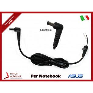 Cavo Alimentazione con Connettore per Alimentatore ASUS DC Power Jack da 5,5x2,5mm (1,2mt)