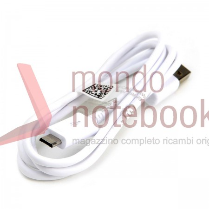 Cavo Dati USB a MICRO USB B 5P Originale Samsung (Bianco)
