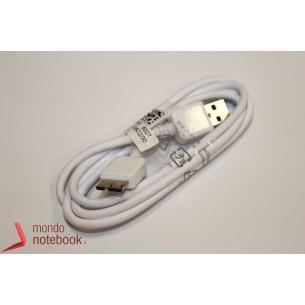 Cavo Dati USB a MICRO USB B COMPATIBILE Samsung Note 3 (Bianco)