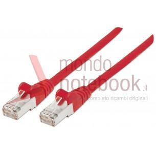 Cavo di rete Patch in Rame Cat. 6 Rosso UTP 0,3 mt