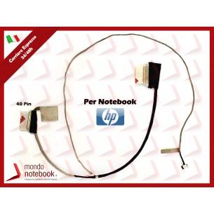 Cavo Flat LCD HP 15-A 15-AC 15-AF 250 G4 255 G4 TPN-C125 (40 Pin)