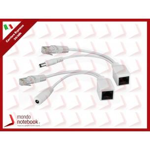 NETPOWER RA KIT ATLANTIS A02-PoE-Pkit alimenta periferiche non PoE utilizzando cavi...