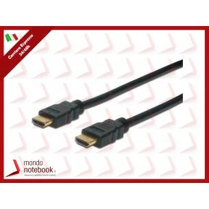 CAVO HDMI 3D M-M DIGITUS  CON ETHERNET CONNETTORI DORATI 1mt