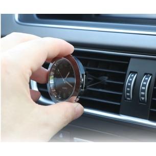 Orologio al Quarzo con Clip o Adesivo per Cruscotto Auto - Luminoso Fluorescente