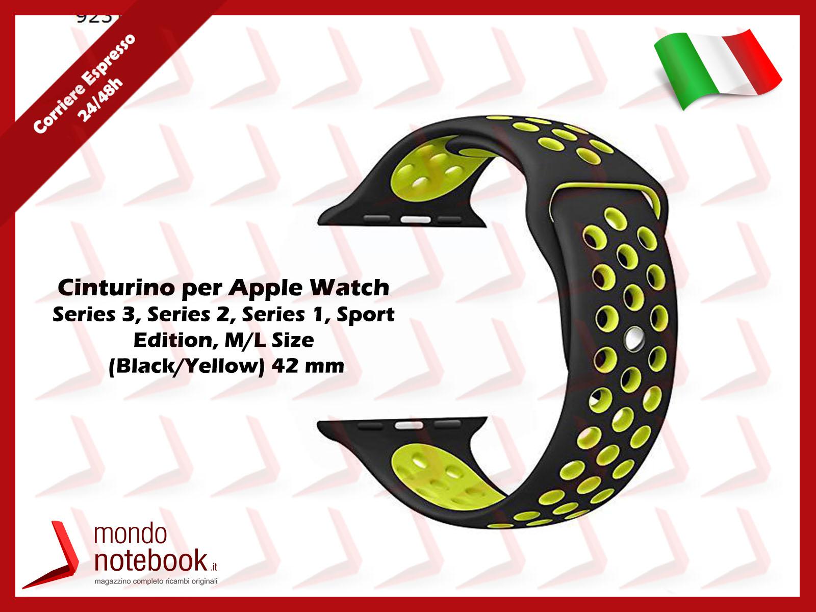 https://www.mondonotebook.it/6649/cinturino-per-apple-watch-series-3-series-2-series-1-sport-edition-m-l-size-black-yellow-42-mm.jpg