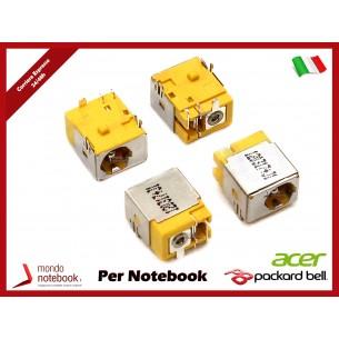 Connettore di Alimentazione DC Power Jack ACER PJ056-G 1,65mm Aspire 3050 Travelmate...