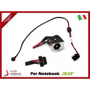 Connettore di Alimentazione DC Power Jack ACER PJ134 1,65mm Aspire D250 P531 KAV10...