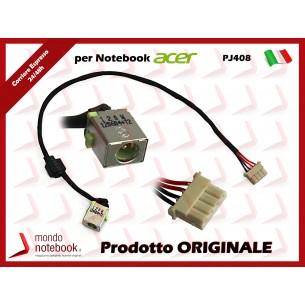 Connettore di Alimentazione DC Power Jack HP PJ020 1,65mm Compaq NC6110 NC6120 NC6140...