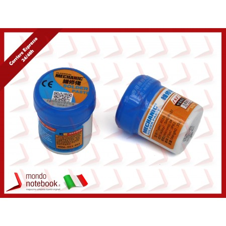 PASTA STAGNO LIQUIDO SALDANTE PER FISSAGGIO SALDATURE MECHANIC XG-50 SOLDER PAST