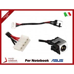 Connettore di Alimentazione DC Power Jack ASUS PJ246 K50 K60 P50 X5DC X50IJ K50IN K50AE...