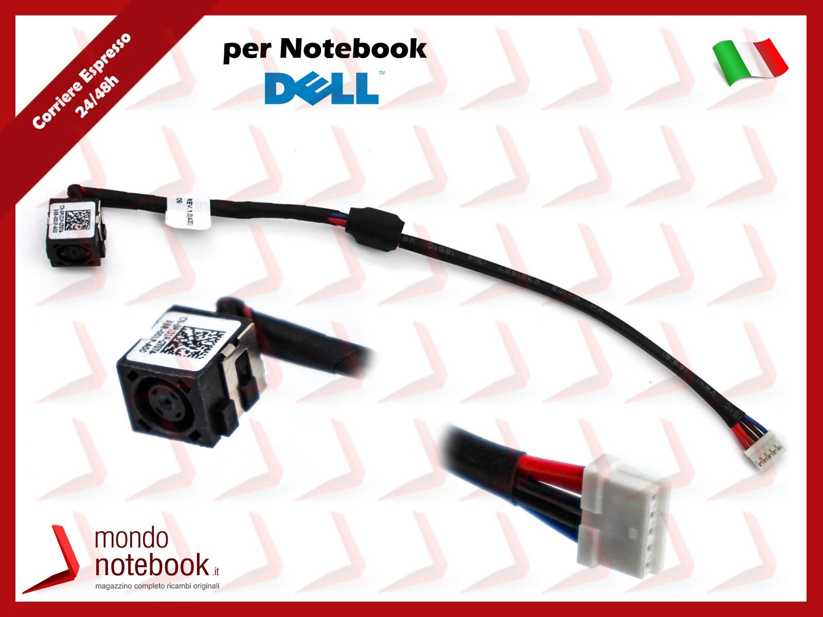 Connettore di alimentazione PJ816 per Notebook HP 250 G2 8 Pin 12 Cm
