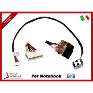 Connettore di Alimentazione DC Power Jack HP PJ230 CQ62 G62 CQ57 CQ56 630 631 635 636...